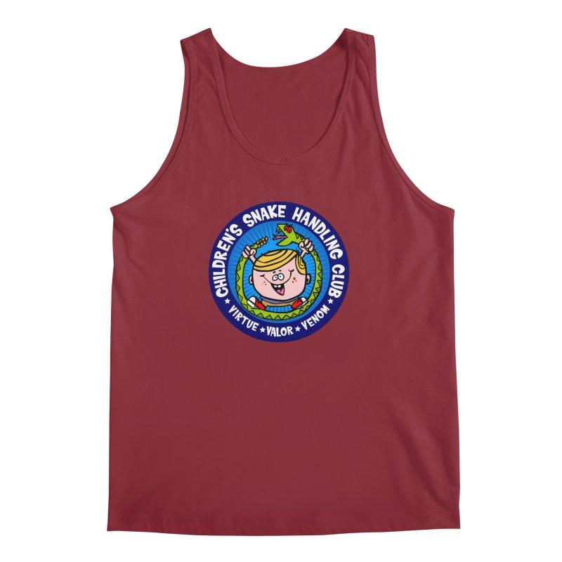 Children's Snake Handling Club Men's Tank by SavageMonsters's Artist Shop