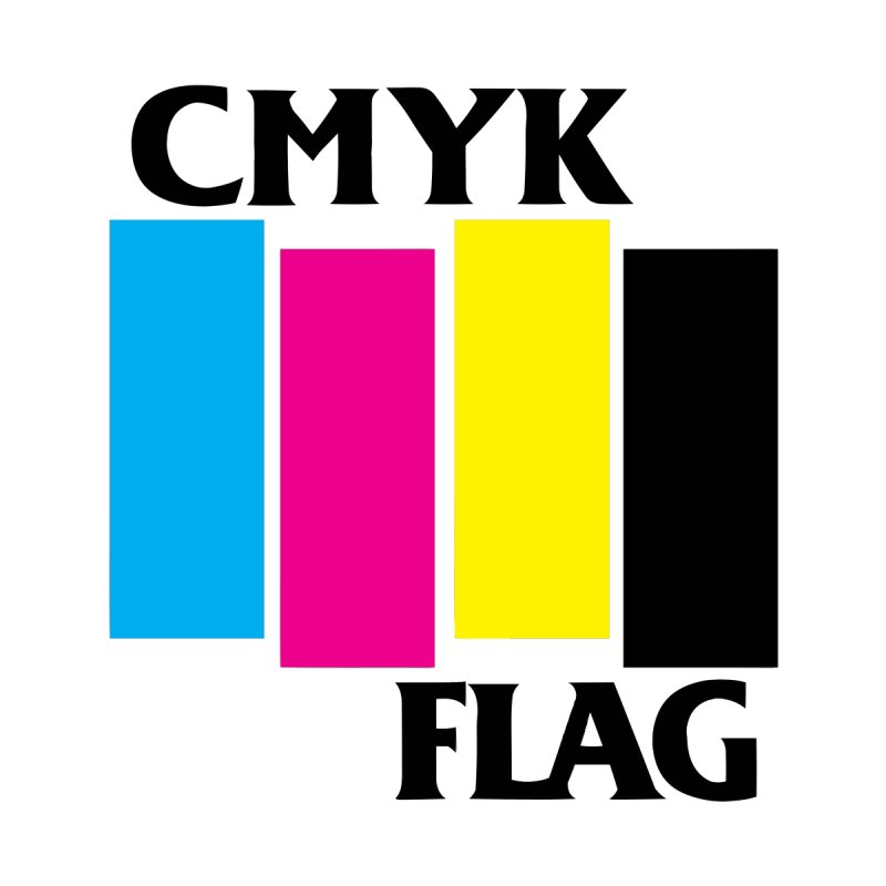 CMYK FLAG Kids T-Shirt by SavageMonsters's Artist Shop