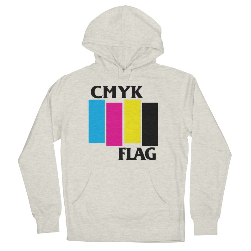 CMYK FLAG Women's Pullover Hoody by SavageMonsters's Artist Shop