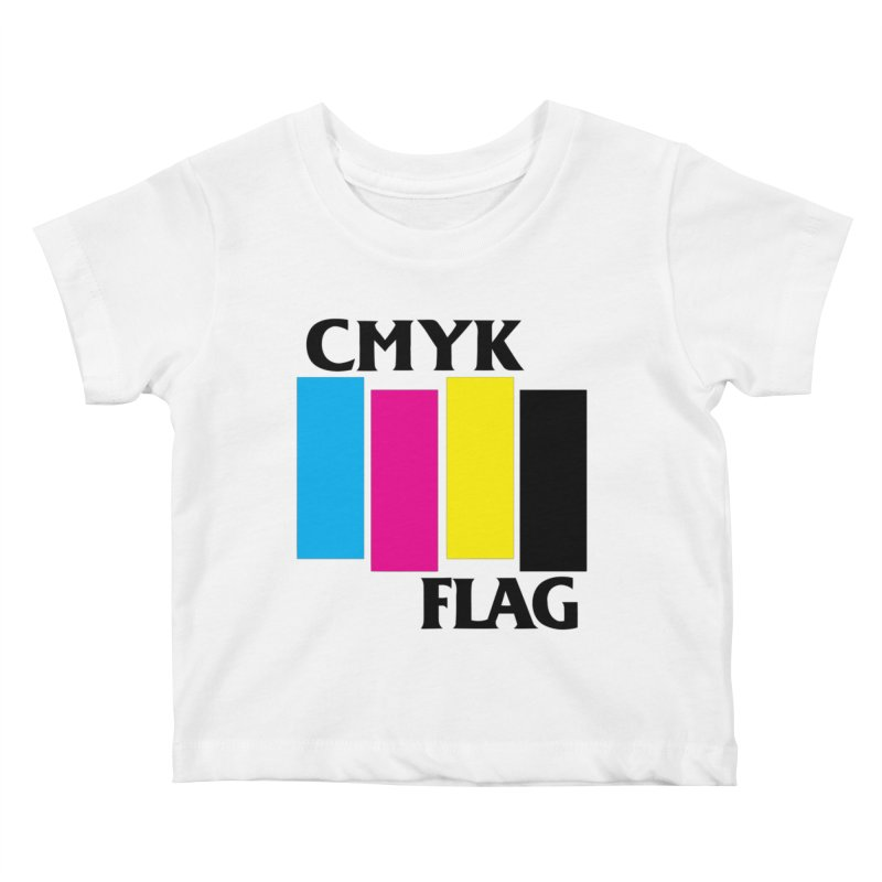 CMYK FLAG Kids Baby T-Shirt by SavageMonsters's Artist Shop