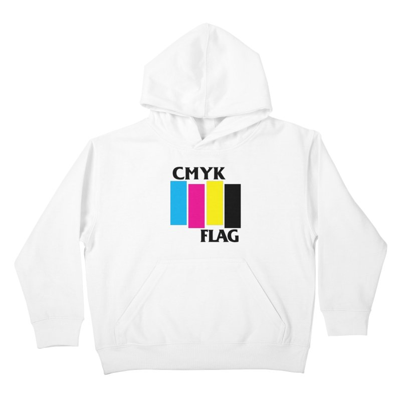 CMYK FLAG Kids Pullover Hoody by SavageMonsters's Artist Shop