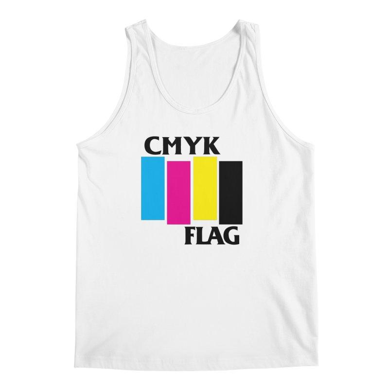 CMYK FLAG Men's Tank by SavageMonsters's Artist Shop