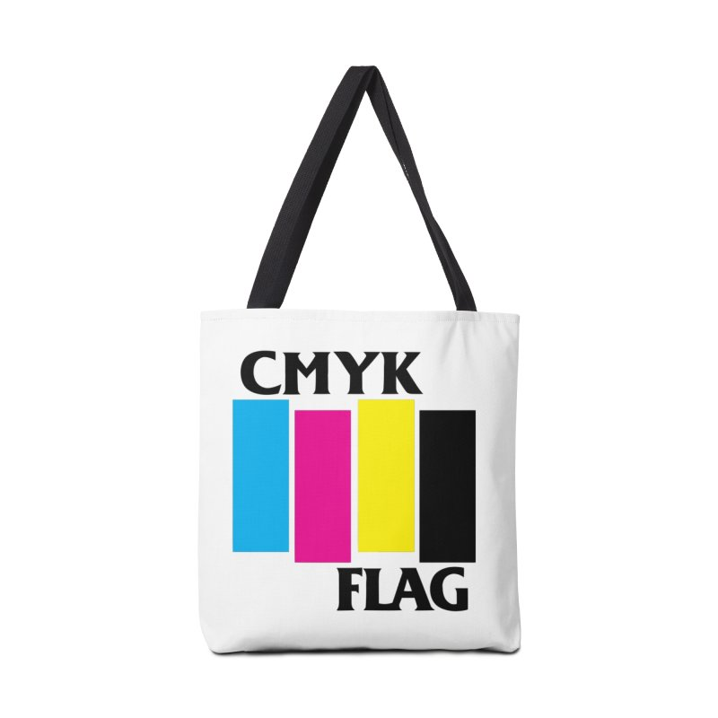 CMYK FLAG Accessories Tote Bag Bag by SavageMonsters's Artist Shop