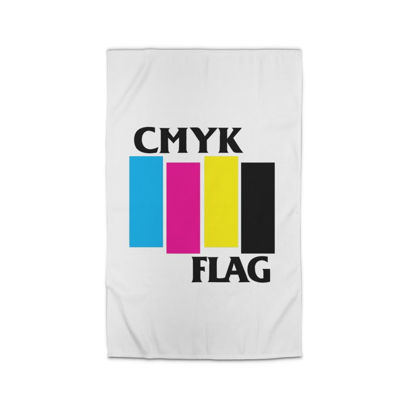 CMYK FLAG Home Rug by SavageMonsters's Artist Shop
