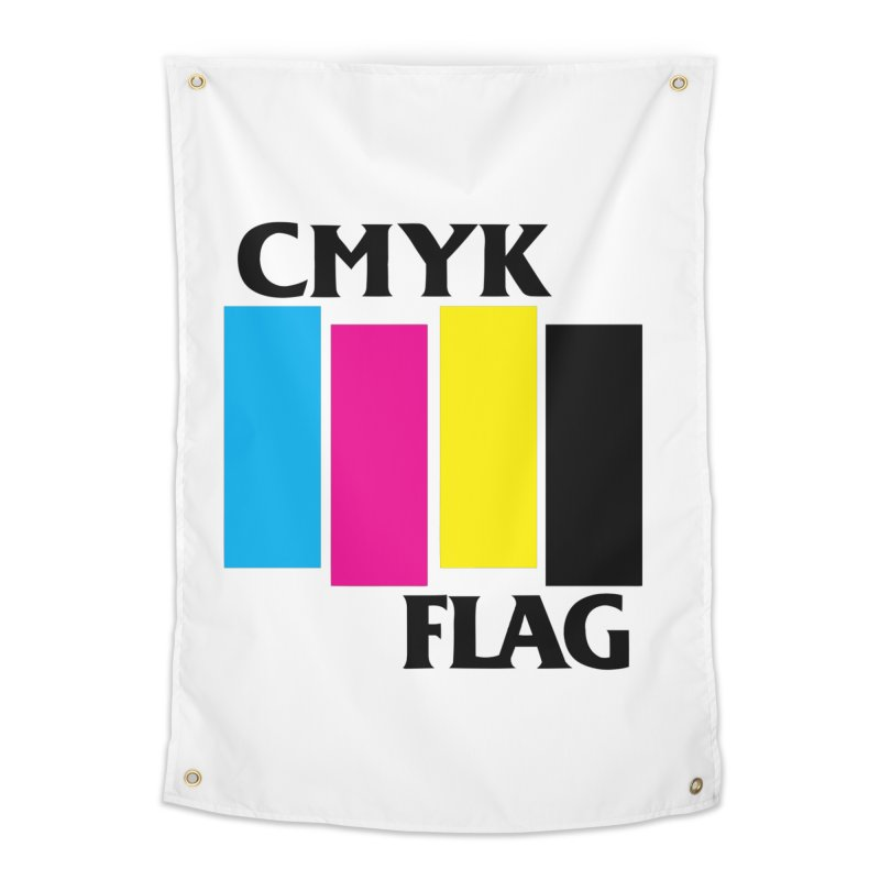 CMYK FLAG Home Tapestry by SavageMonsters's Artist Shop