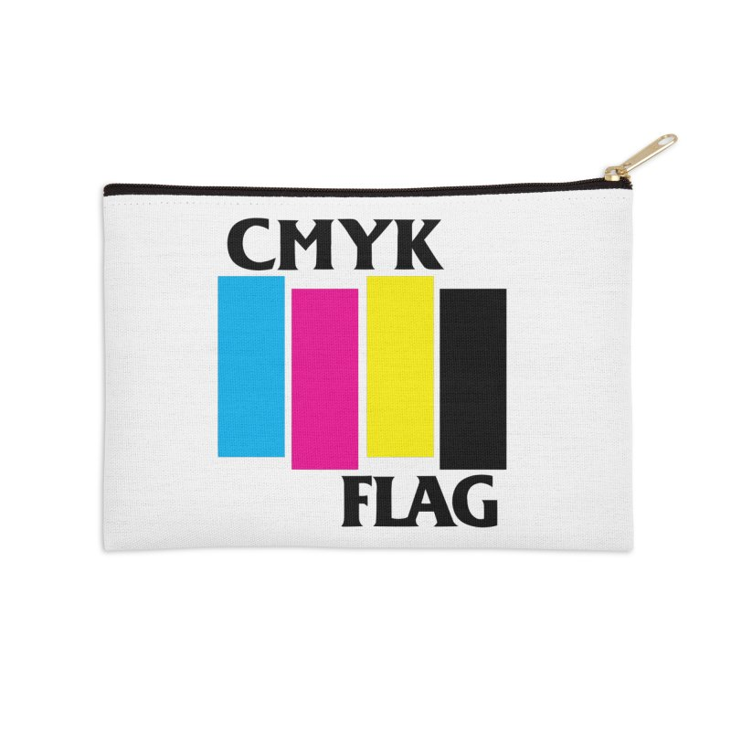 CMYK FLAG Accessories Zip Pouch by SavageMonsters's Artist Shop
