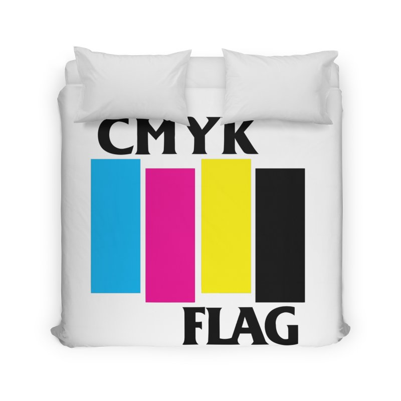 CMYK FLAG Home Duvet by SavageMonsters's Artist Shop