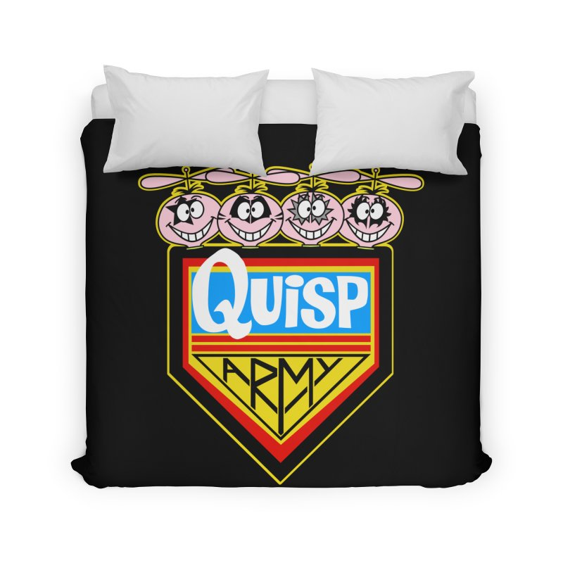 Quisp Army Home Duvet by SavageMonsters's Artist Shop