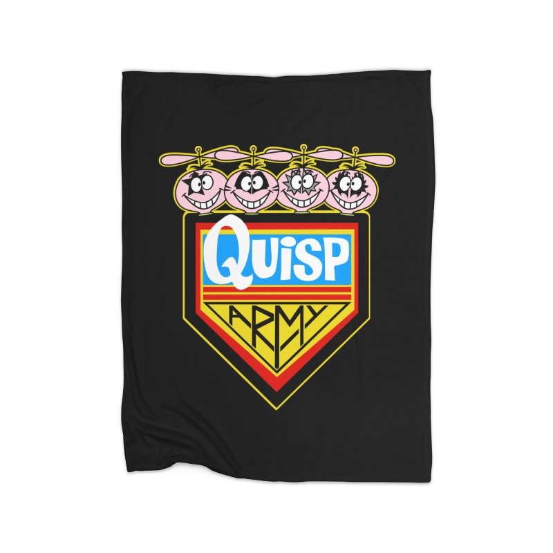 Quisp Army Home Blanket by SavageMonsters's Artist Shop