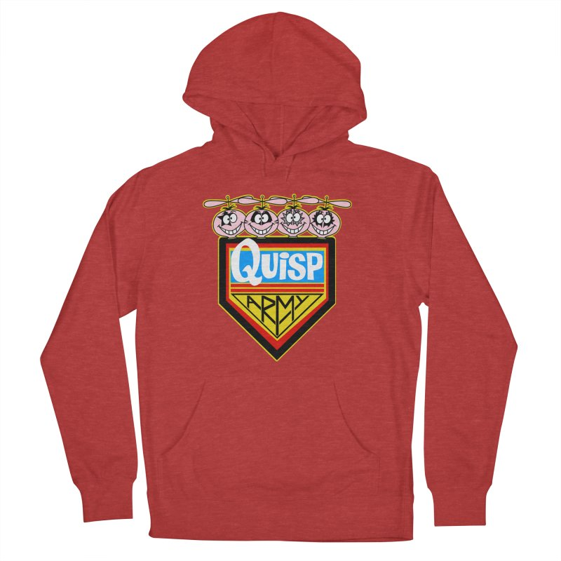Quisp Army Women's French Terry Pullover Hoody by SavageMonsters's Artist Shop