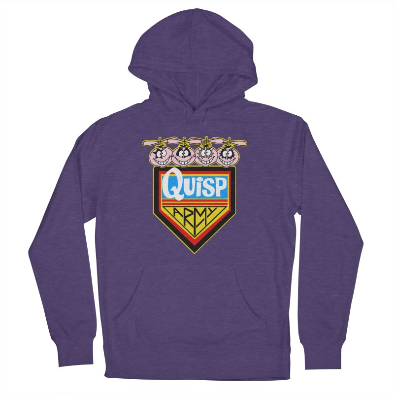 Quisp Army Men's French Terry Pullover Hoody by SavageMonsters's Artist Shop