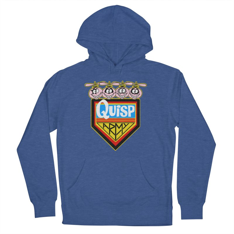 Quisp Army Men's Pullover Hoody by SavageMonsters's Artist Shop