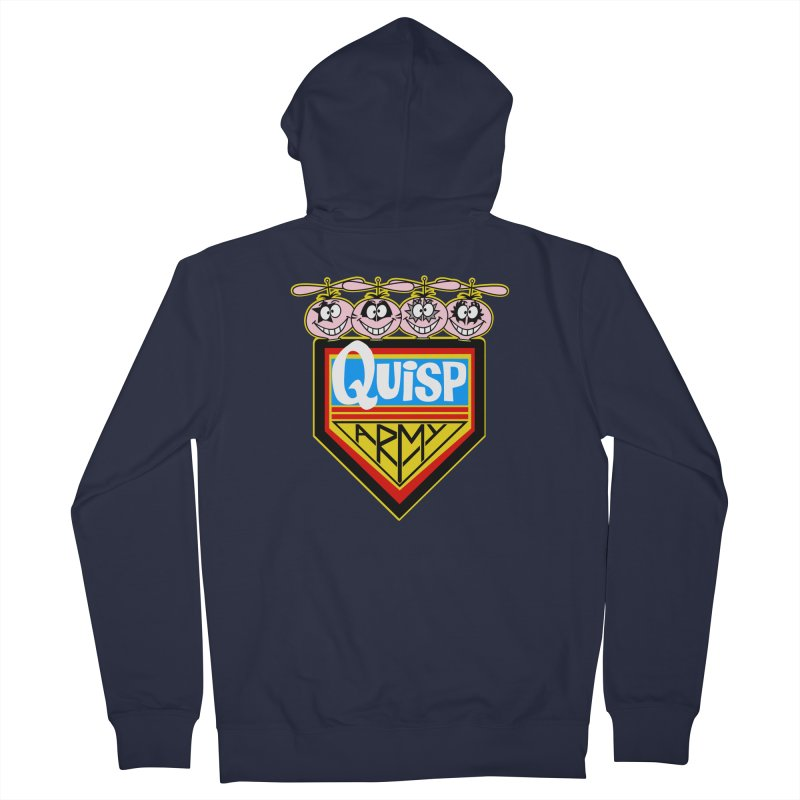 Quisp Army Women's Zip-Up Hoody by SavageMonsters's Artist Shop