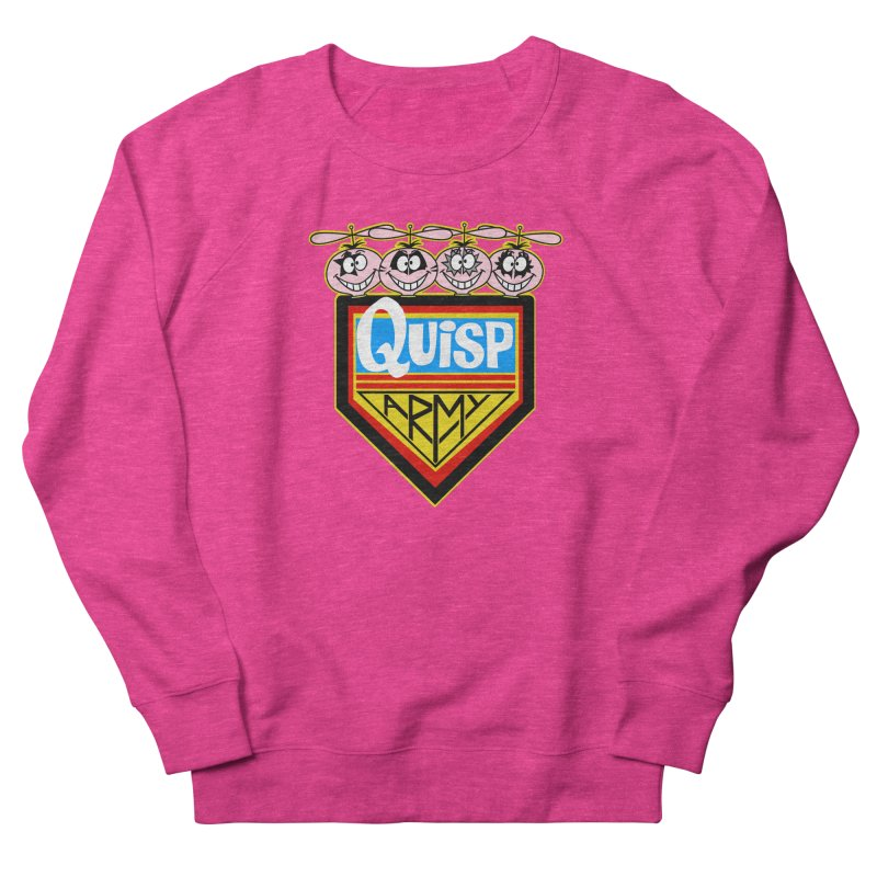 Quisp Army Men's French Terry Sweatshirt by SavageMonsters's Artist Shop