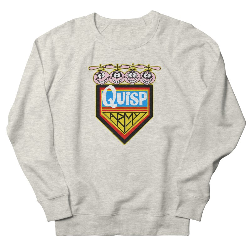 Quisp Army Men's Sweatshirt by SavageMonsters's Artist Shop