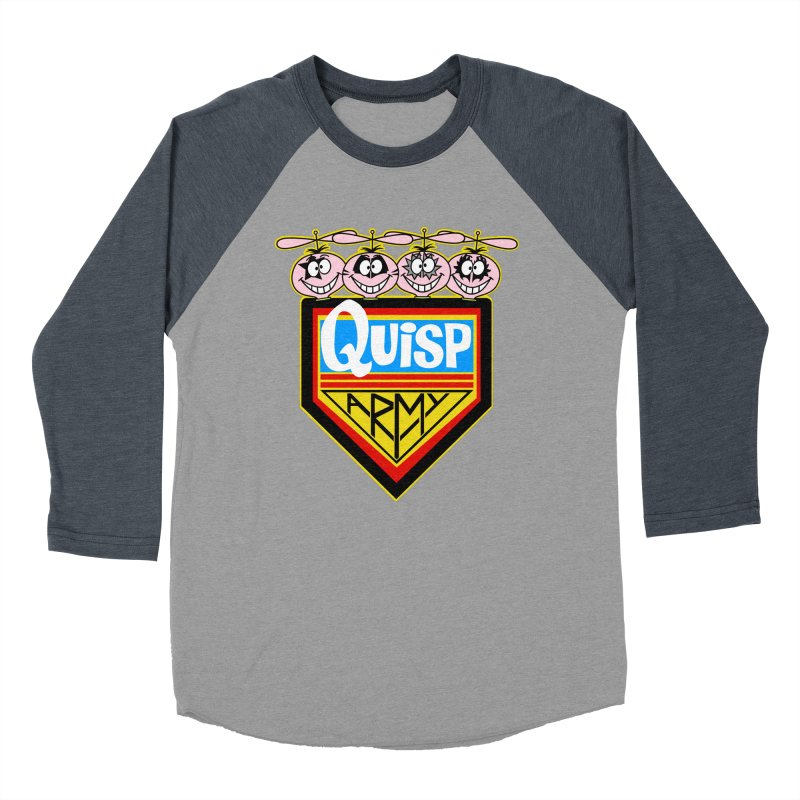 Quisp Army Women's Baseball Triblend T-Shirt by SavageMonsters's Artist Shop