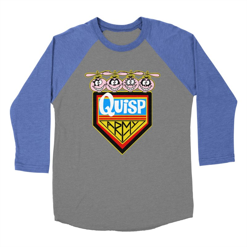 Quisp Army Men's Baseball Triblend Longsleeve T-Shirt by SavageMonsters's Artist Shop