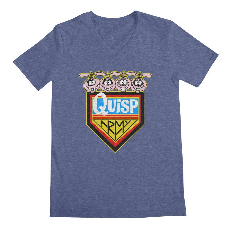 Quisp Army Men's V-Neck by SavageMonsters's Artist Shop