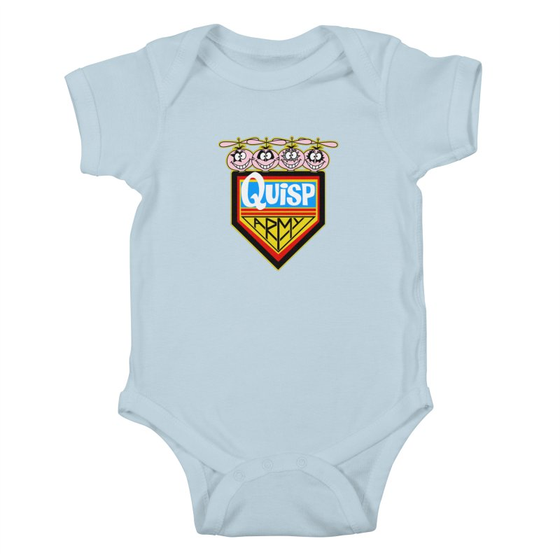 Quisp Army Kids Baby Bodysuit by SavageMonsters's Artist Shop