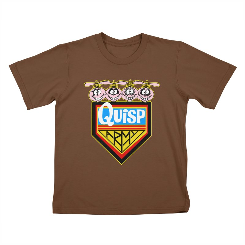 Quisp Army Kids T-shirt by SavageMonsters's Artist Shop