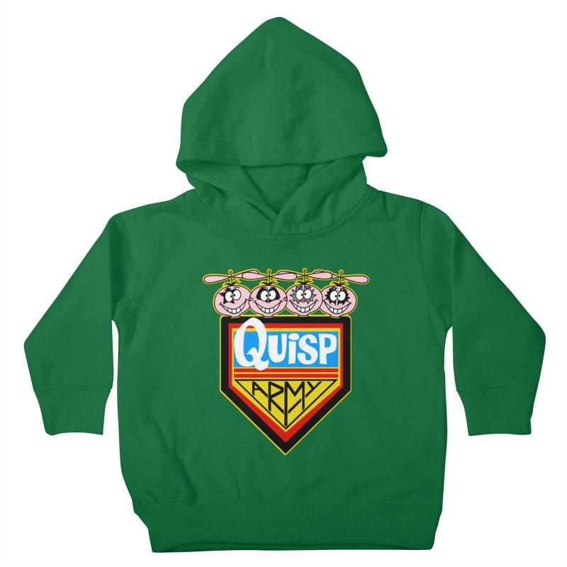 Quisp Army Kids Toddler Pullover Hoody by SavageMonsters's Artist Shop