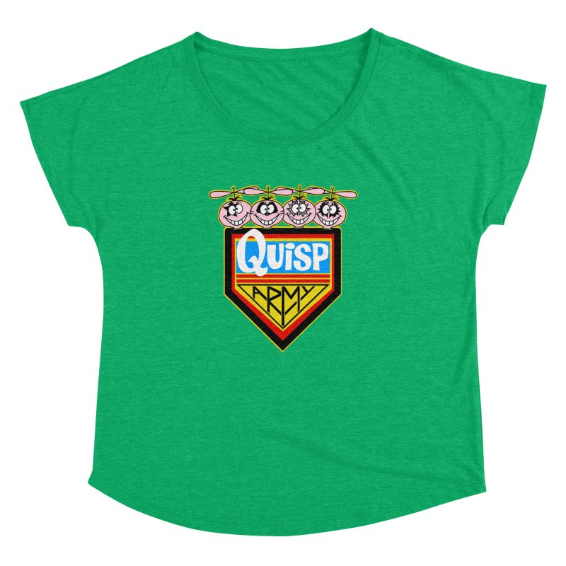 Quisp Army Women's Dolman by SavageMonsters's Artist Shop