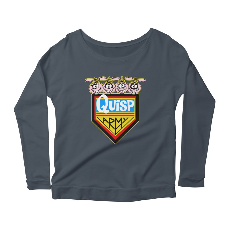 Quisp Army Women's Longsleeve Scoopneck  by SavageMonsters's Artist Shop