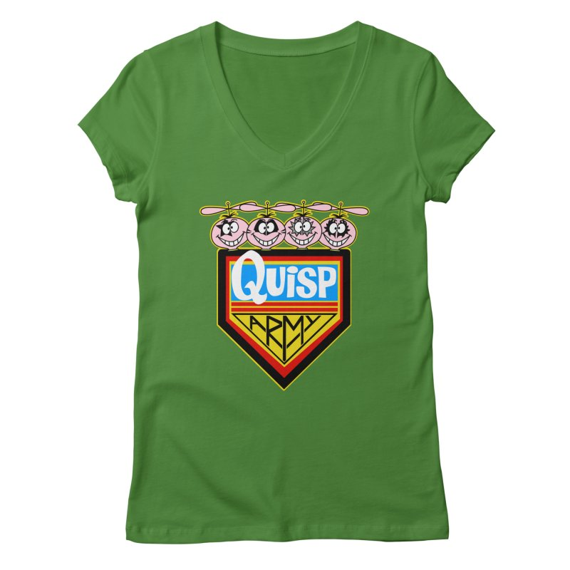 Quisp Army Women's V-Neck by SavageMonsters's Artist Shop