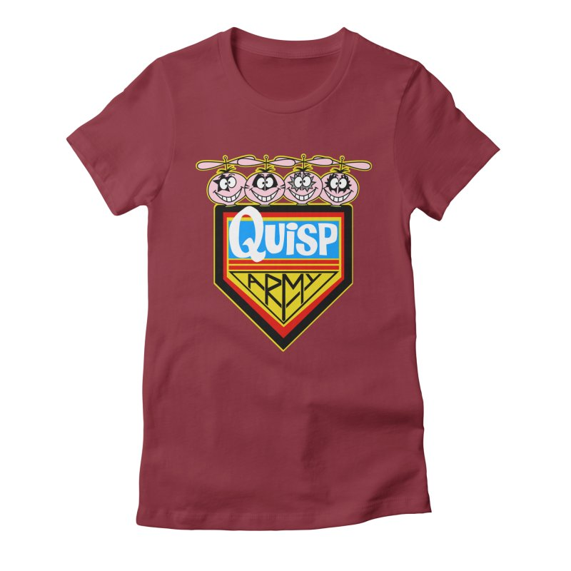 Quisp Army Women's Fitted T-Shirt by SavageMonsters's Artist Shop