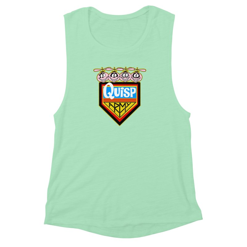 Quisp Army Women's Muscle Tank by SavageMonsters's Artist Shop