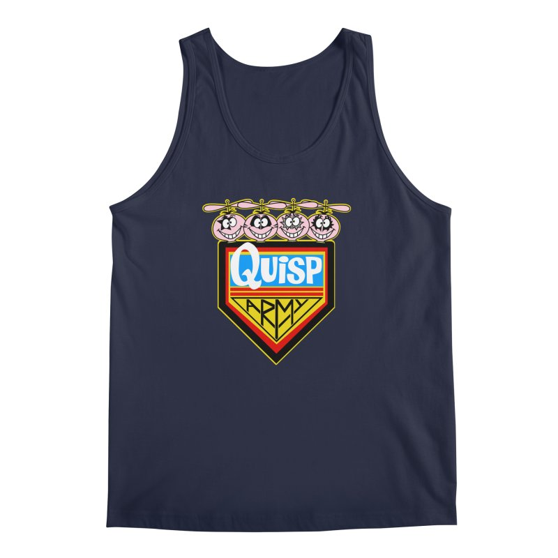 Quisp Army Men's Tank by SavageMonsters's Artist Shop