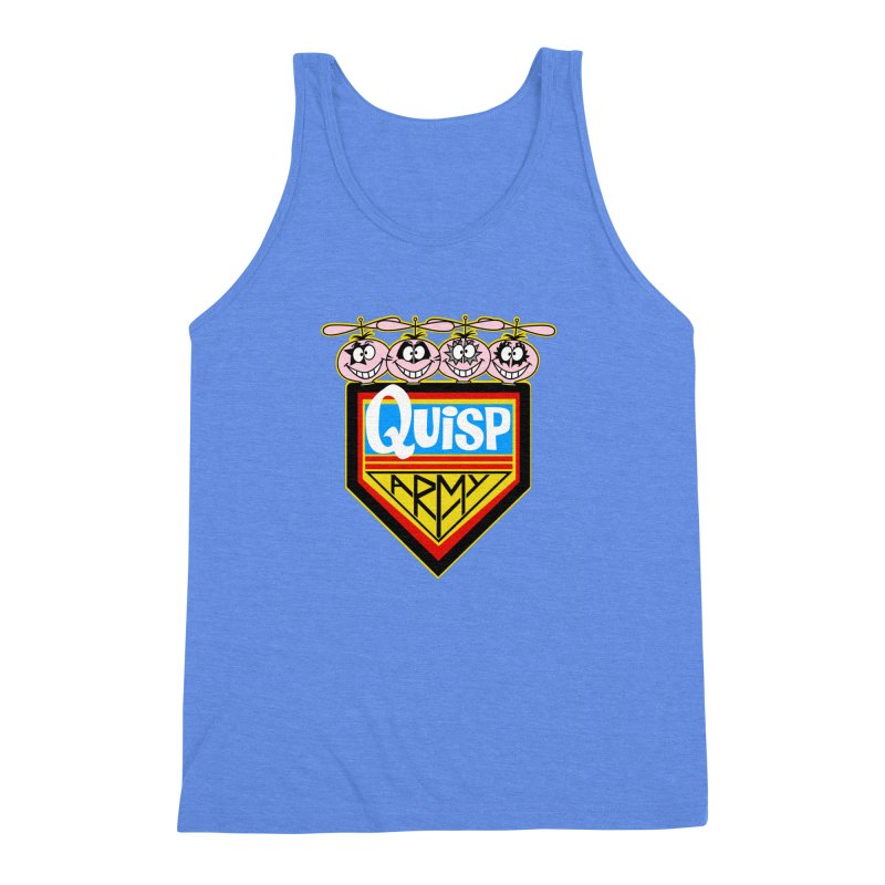Quisp Army Men's Triblend Tank by SavageMonsters's Artist Shop