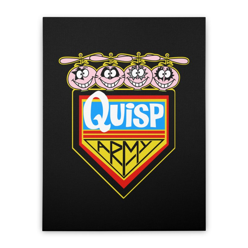 Quisp Army Home Stretched Canvas by SavageMonsters's Artist Shop