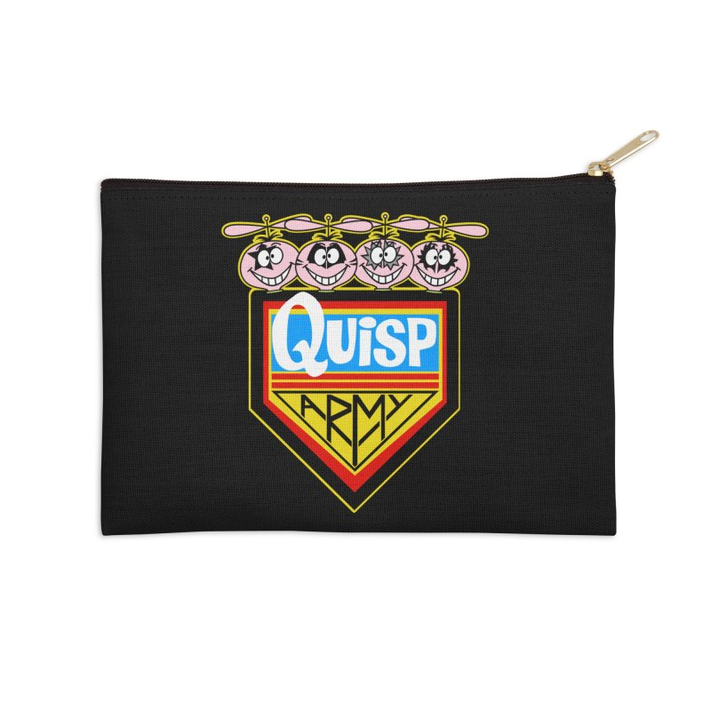 Quisp Army Accessories Zip Pouch by SavageMonsters's Artist Shop