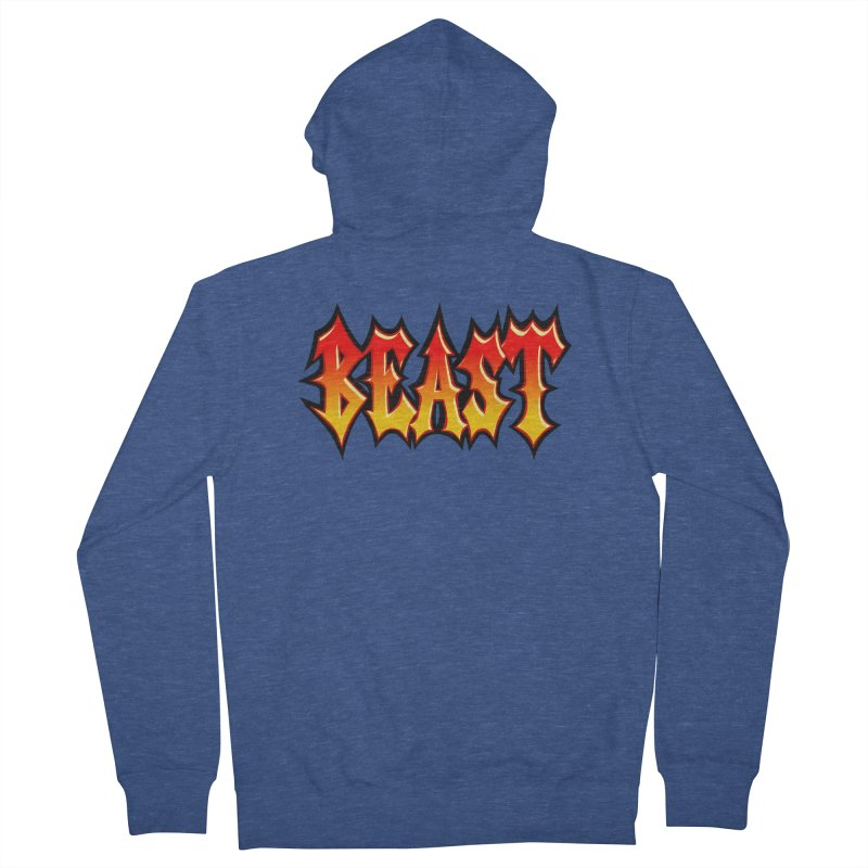 BEAST Women's Zip-Up Hoody by SavageMonsters's Artist Shop