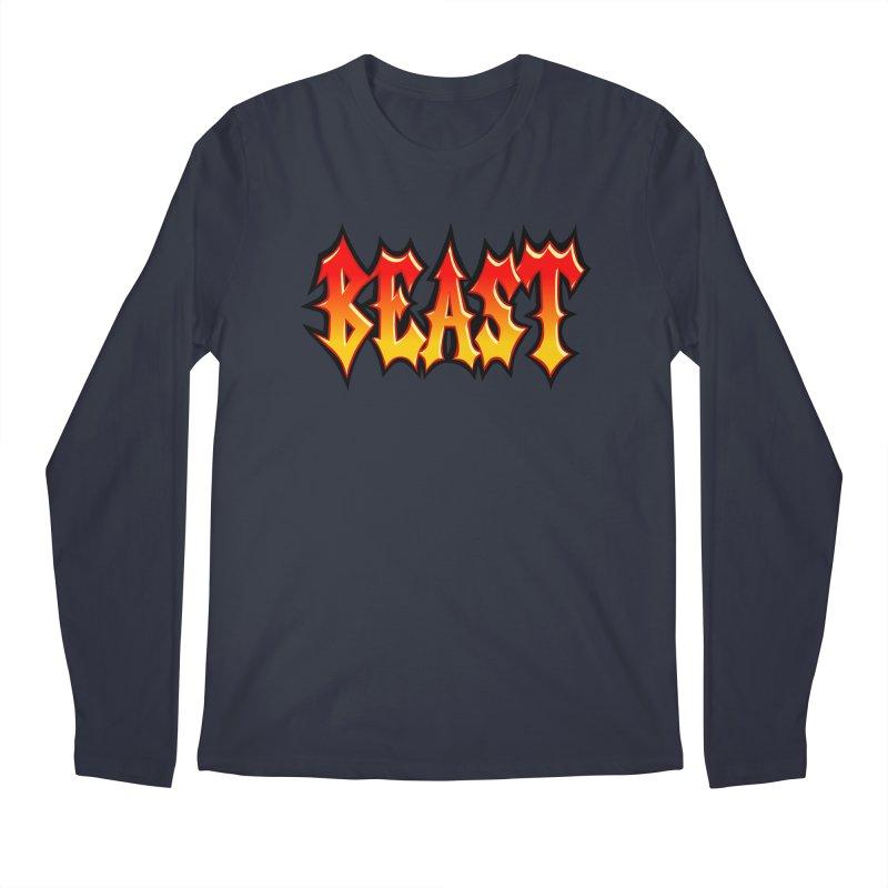 BEAST Men's Longsleeve T-Shirt by SavageMonsters's Artist Shop