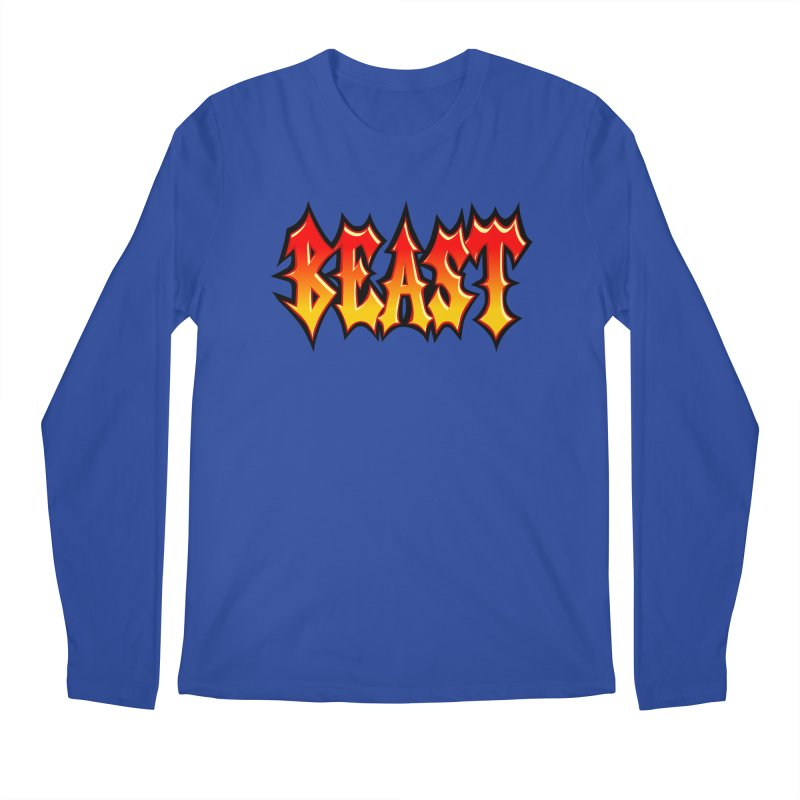 BEAST Men's Longsleeve T-Shirt by SavageMonsters's Artist Shop