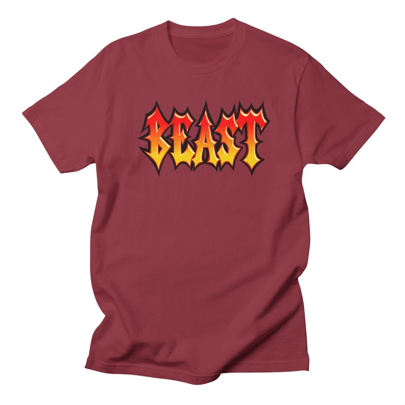 BEAST Women's Unisex T-Shirt by SavageMonsters's Artist Shop