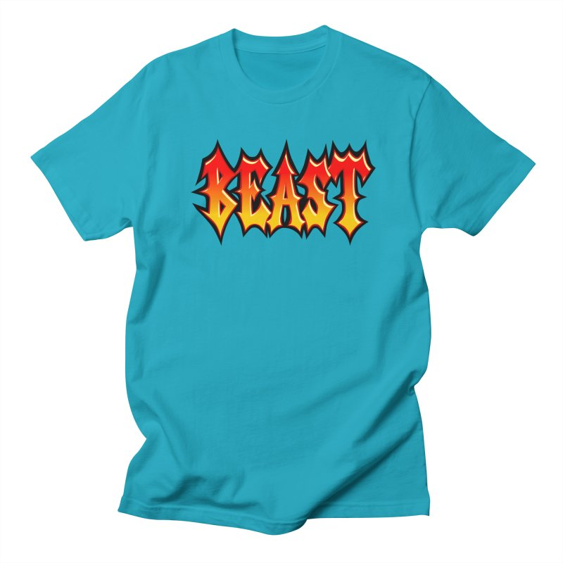 BEAST Men's T-shirt by SavageMonsters's Artist Shop