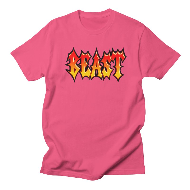 BEAST Men's T-Shirt by SavageMonsters's Artist Shop