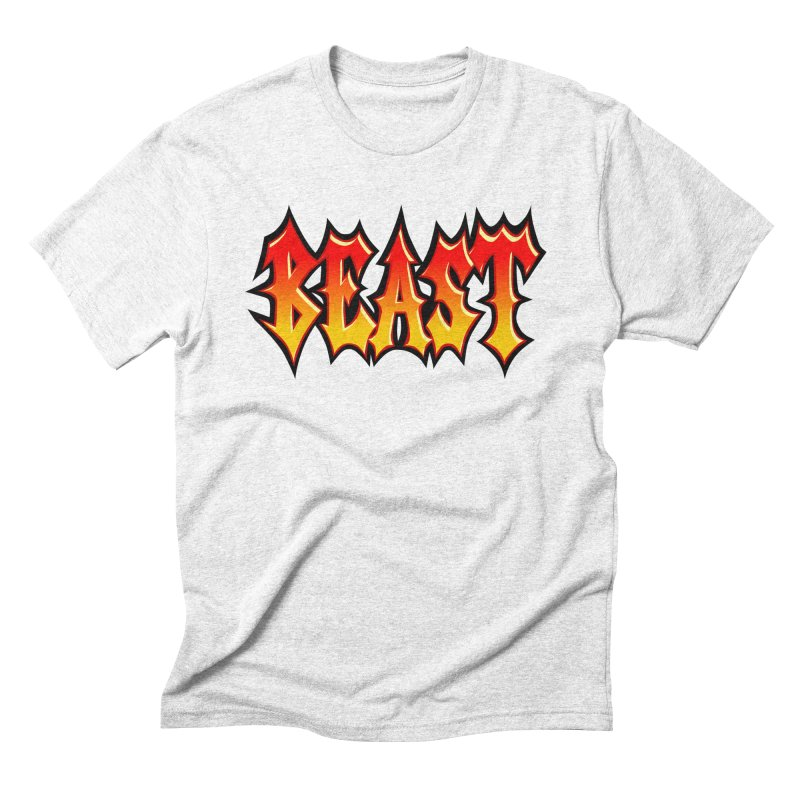 BEAST Men's Triblend T-shirt by SavageMonsters's Artist Shop
