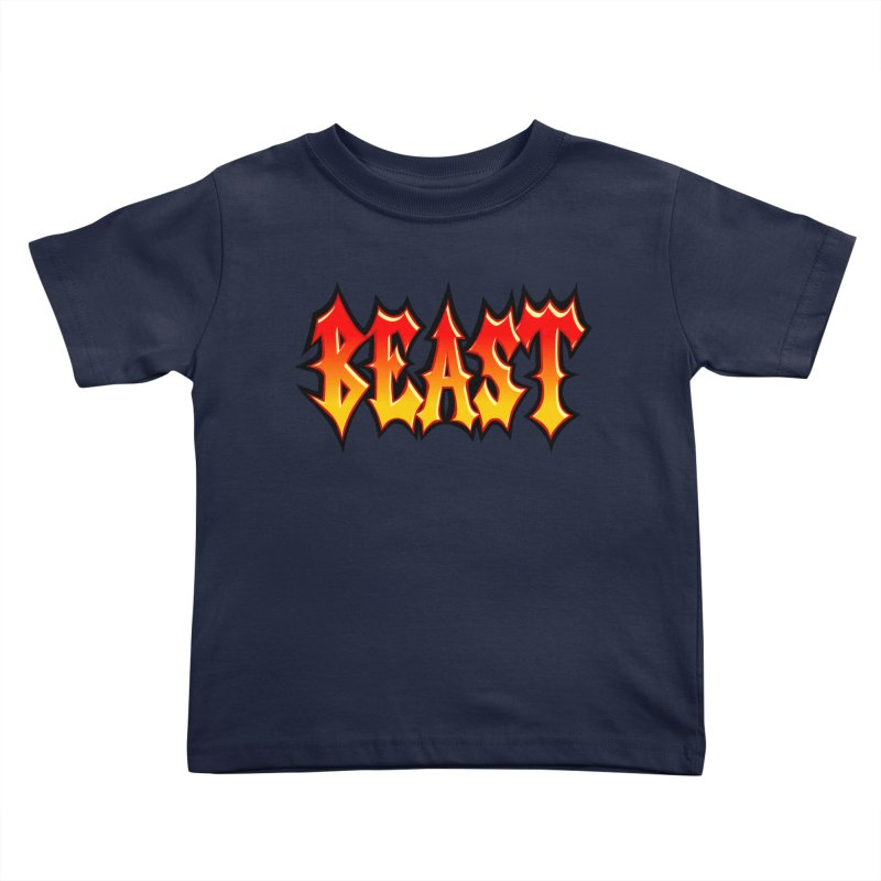 BEAST Kids Toddler T-Shirt by SavageMonsters's Artist Shop