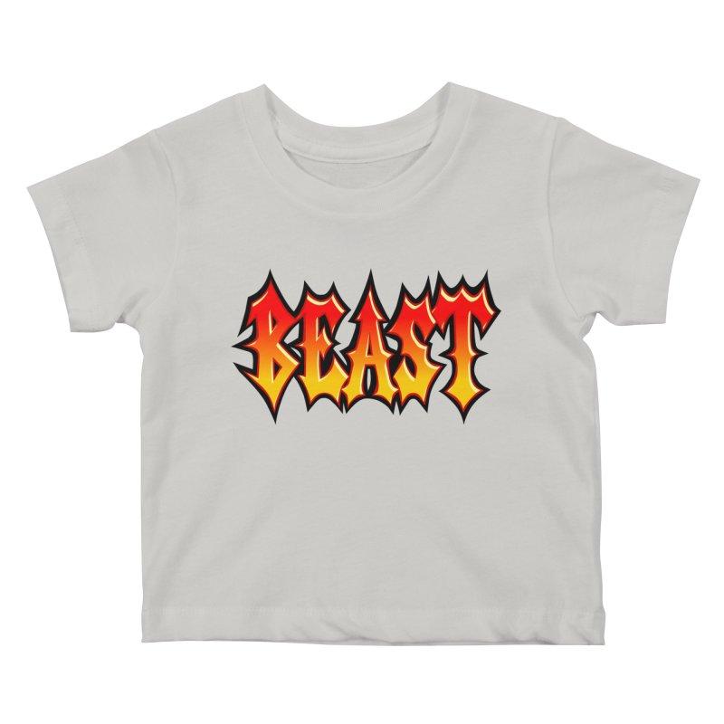 BEAST Kids Baby T-Shirt by SavageMonsters's Artist Shop