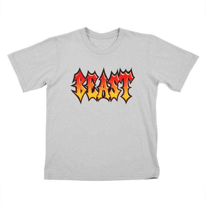 BEAST Kids T-Shirt by SavageMonsters's Artist Shop