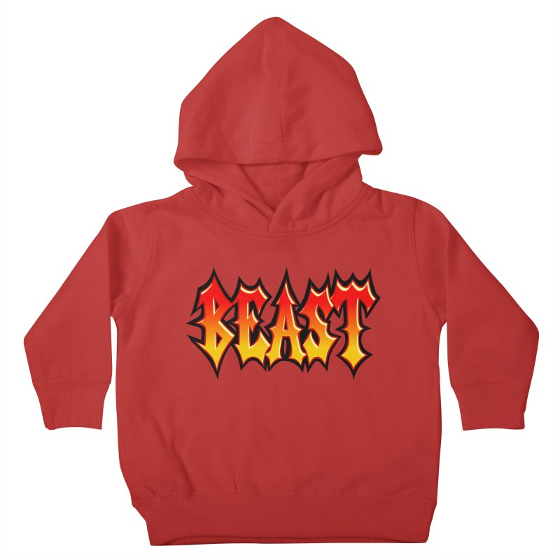 BEAST Kids Toddler Pullover Hoody by SavageMonsters's Artist Shop