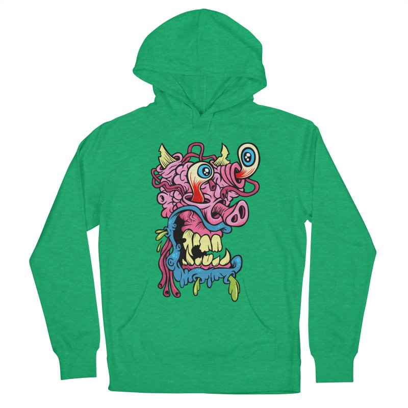 Gnarly Charlie Women's Pullover Hoody by SavageMonsters's Artist Shop