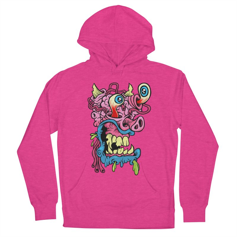 Gnarly Charlie Men's Pullover Hoody by SavageMonsters's Artist Shop