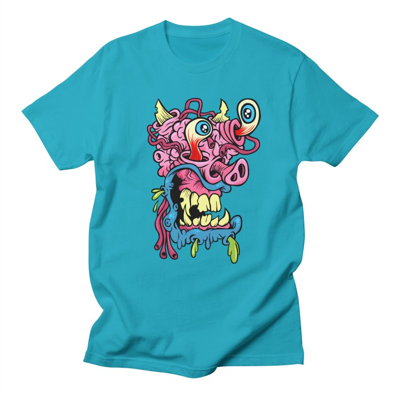 Gnarly Charlie Men's T-shirt by SavageMonsters's Artist Shop