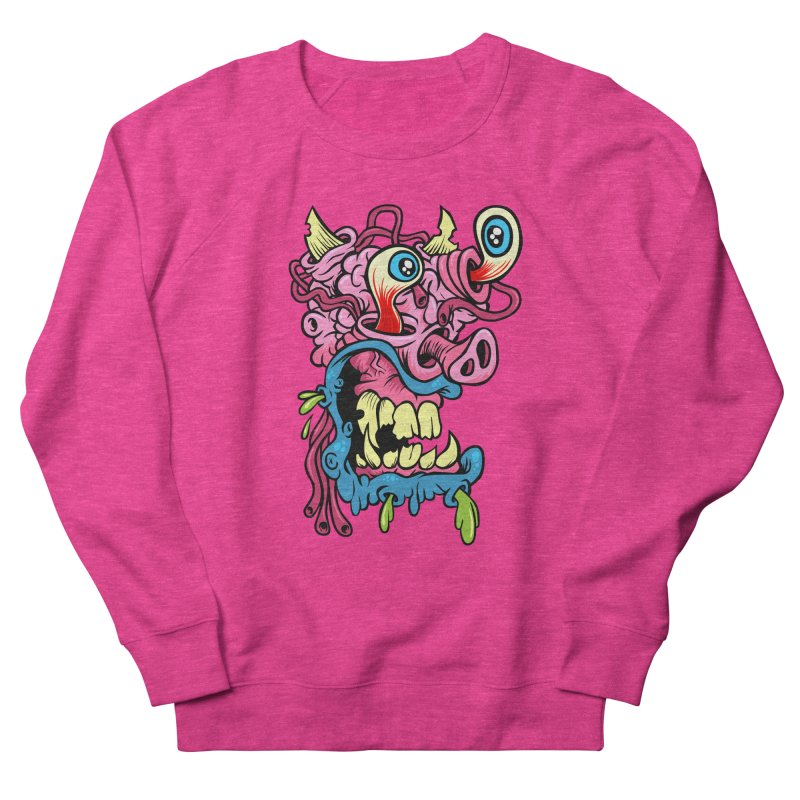 Gnarly Charlie Men's Sweatshirt by SavageMonsters's Artist Shop