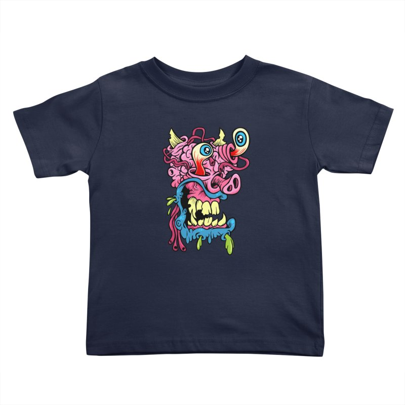 Gnarly Charlie Kids Toddler T-Shirt by SavageMonsters's Artist Shop